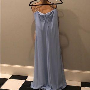 Cinderella blue cocktail dress